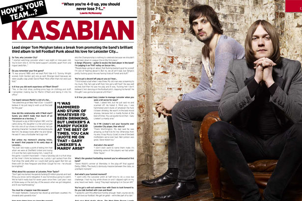 Kasabian Article
