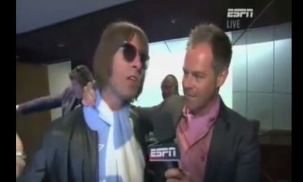 Liam Gallagher FA Cup Final Interview