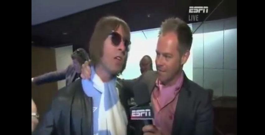 Liam Gallagher FA Cup Final Interview
